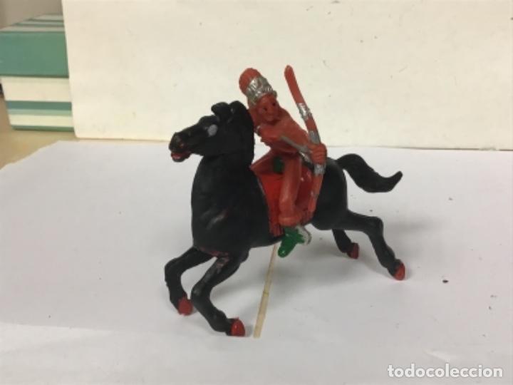 Figuras de Goma y PVC: Indio lafredo reigon oeste western cowboy NO REAMSA JECSAN COMANSI TEIXIDO pech - Foto 2 - 260297480