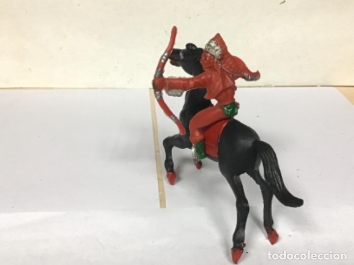 Figuras de Goma y PVC: Indio lafredo reigon oeste western cowboy NO REAMSA JECSAN COMANSI TEIXIDO pech - Foto 4 - 260297480