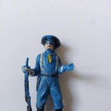 Figuras de Goma y PVC: FIGURA DE JECSAN - RINTINTIN - SERIE RIN TIN TIN - YANKEE GUERRA CIVIL AMERICANA - PLASTICO - AÑOS. Lote 260413340