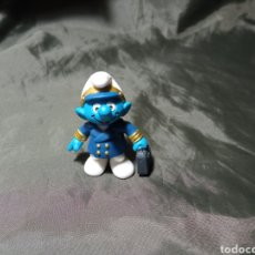 Figuras de Goma y PVC: PITUFO PILOTO COMERCIAL. Lote 260465065