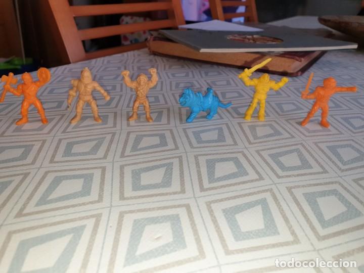 6 FIGURAS DUNKIN MASTER DEL UNIVERSO (Juguetes - Figuras de Goma y Pvc - Dunkin)