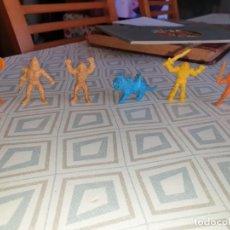 Figuras de Goma y PVC: 6 FIGURAS DUNKIN MASTER DEL UNIVERSO. Lote 260495080