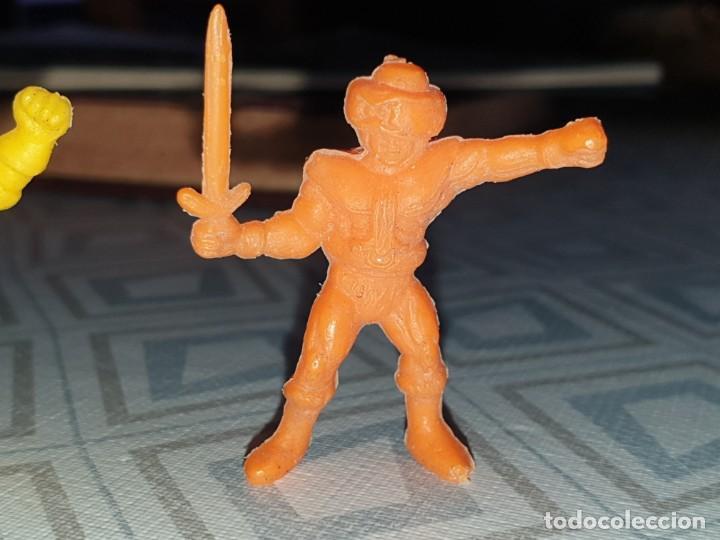 Figuras de Goma y PVC: 6 FIGURAS DUNKIN MASTER DEL UNIVERSO - Foto 2 - 260495080