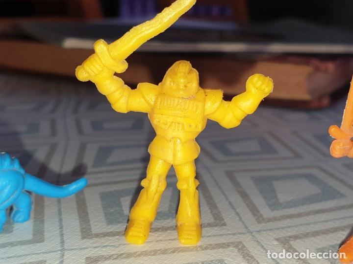 Figuras de Goma y PVC: 6 FIGURAS DUNKIN MASTER DEL UNIVERSO - Foto 3 - 260495080