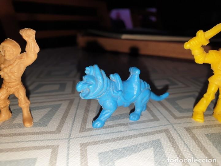 Figuras de Goma y PVC: 6 FIGURAS DUNKIN MASTER DEL UNIVERSO - Foto 4 - 260495080