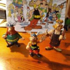 Figuras de Goma y PVC: LOTE 3 FIGURAS SERIE ASTÉRIX Y OBELIX. Lote 260520435