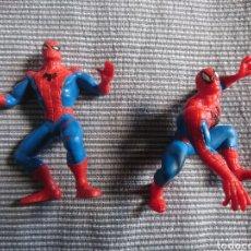 Figuras de Goma y PVC: 2 FIGURAS SPIDERMAN PVC COMICS SPAIN AÑOS 90. Lote 260535200