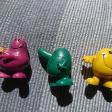 Figuras de Goma y PVC: 3 FIGURAS PVC 1981 BULLY GERMANY RARE. Lote 260542655