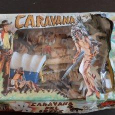 Figuras de Borracha e PVC: CARAVANA DEL OESTE SOTORRES NUEVO!!!!. Lote 260544175