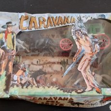 Figuras de Borracha e PVC: CARAVANA DEL OESTE SOTORRES NUEVO!!!!. Lote 260544770