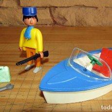 Figuras de Goma y PVC: BOYVIS MOVILS, DE JECSAN - LOTE DE MUÑECO Y COMPLEMENTOS - AÑOS 70. Lote 260689855