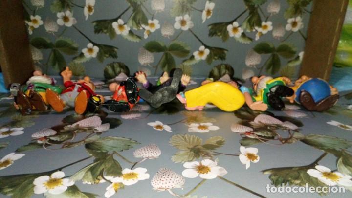 Figuras de Goma y PVC: LOTE DE 7 FIGURAS PVC DE BLANCANIEVES Y LOS SIETE ENANITOS DE DISNEY - COMICS SPAIN, AÑOS 80s - Foto 4 - 260773895