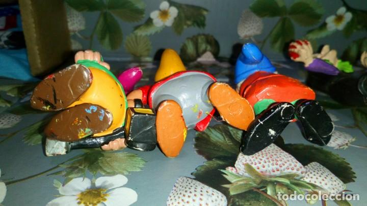 Figuras de Goma y PVC: LOTE DE 7 FIGURAS PVC DE BLANCANIEVES Y LOS SIETE ENANITOS DE DISNEY - COMICS SPAIN, AÑOS 80s - Foto 5 - 260773895