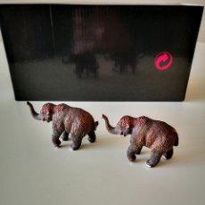 Figuras de Goma y PVC: 2 ELEFANTES PVC DE LA MARCA COLLECTA PARECIDOS A SCHLEICH. Lote 260867310