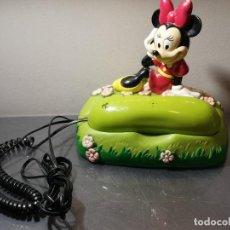 Figuras de Goma y PVC: TELÉFONO FIJO DISNEY TBR TELEPHONE MICKEY MINNIE. Lote 261126820