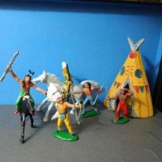 Figuras de Goma y PVC: INDIOS JECSAN. Lote 261130670