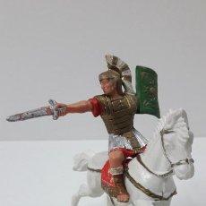 Figuras de Goma y PVC: LEGIONARIO ROMANO A CABALLO . FIGURA REAMSA . SERIE LEGIONES ROMANAS . ORIGINAL AÑOS 60. Lote 261168160