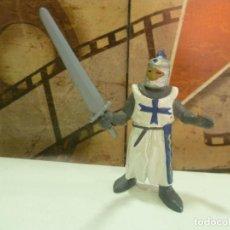 Figuras de Goma y PVC: FIGURA CABALLERO MEDIEVAL-MUY RARA. Lote 261243665