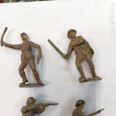Figuras de Goma y PVC: SOLDADOS JAPONESES - JECSAN - GOMA. Lote 261267585