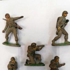 Figuras de Goma y PVC: MARINES SOLDADOS AMERICANOS - JECSAN - GOMA. Lote 261267735