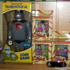 Figuras de Goma y PVC: FRANKENSTEIN JR. Y LOS IMPOSIBLES , HANNA BARBERA , NUEVOS EN SUS CAJAS. Lote 261302905