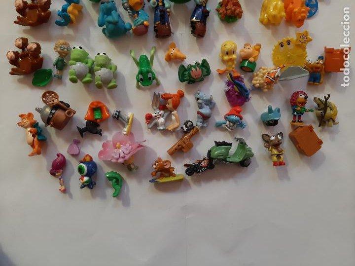 Figuras Kinder: Kinder, Ferrero, Moncherie, lote 60 figuras de varias series - Foto 2 - 261336920