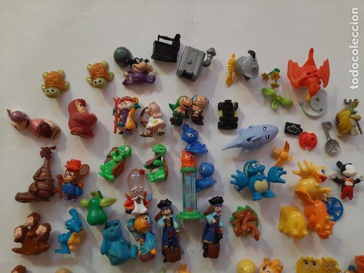 Figuras Kinder: Kinder, Ferrero, Moncherie, lote 60 figuras de varias series - Foto 3 - 261336920