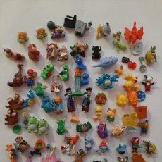 Figuras Kinder: KINDER, FERRERO, MONCHERIE, LOTE 60 FIGURAS DE VARIAS SERIES. Lote 261336920