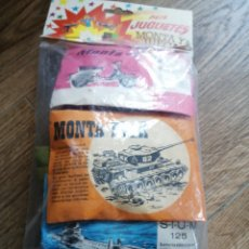 Figuras de Goma y PVC: BOLSA CON DIEZ MINISOBRES MONTAPLEX. Lote 261338385