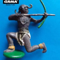 Figuras de Goma y PVC: GAMA - LOTE 297 FIGURA ORIGINAL GUERRERO AFRICANO - COMPATIBLE REAMSA JECSAN COMANSI PECH. Lote 261576570