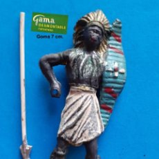 Figuras de Borracha e PVC: GAMA - LOTE 300 FIGURA ORIGINAL GUERRERO AFRICANO - COMPATIBLE REAMSA JECSAN COMANSI PECH. Lote 261579175