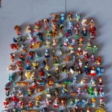 Figuras Kinder: LOTE KINDER SORPRESA MÁS DE 130 FIGURAS. Lote 261607260