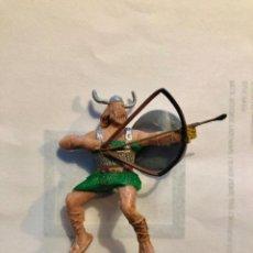 Figure di Gomma e PVC: ESTEREOPLAST VIKINGO OLAFF PERTENECE A LA COLECCIÓN CAPITÁN TRUENO AÑOS 60 LAS ARMAS NO SON ORIGIN. Lote 261620385