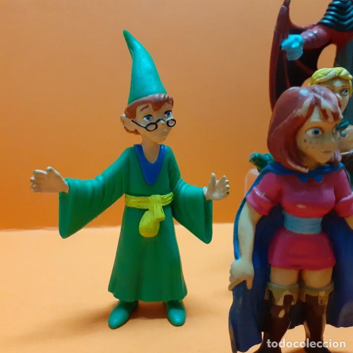 Figuras de Goma y PVC: LOTE FIGURAS PVC DRAGONES Y MAZMORRAS COLECCION COMPLETA COMICS SPAIN - VENGER EL AMO DEL CALABOZO - Foto 2 - 261699935
