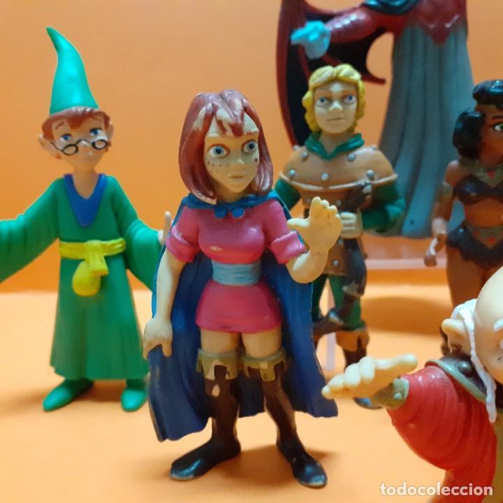 Figuras de Goma y PVC: LOTE FIGURAS PVC DRAGONES Y MAZMORRAS COLECCION COMPLETA COMICS SPAIN - VENGER EL AMO DEL CALABOZO - Foto 5 - 261699935