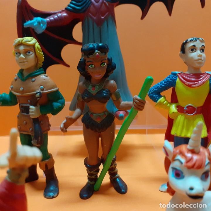 Figuras de Goma y PVC: LOTE FIGURAS PVC DRAGONES Y MAZMORRAS COLECCION COMPLETA COMICS SPAIN - VENGER EL AMO DEL CALABOZO - Foto 6 - 261699935