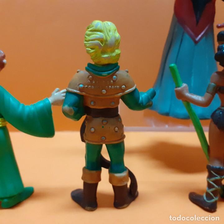 Figuras de Goma y PVC: LOTE FIGURAS PVC DRAGONES Y MAZMORRAS COLECCION COMPLETA COMICS SPAIN - VENGER EL AMO DEL CALABOZO - Foto 19 - 261699935