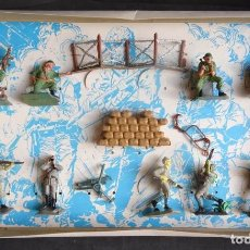 Figuras de Goma y PVC: PECH DIA D HORA H JAPONESES AMERICANOS CAJA. Lote 261815415