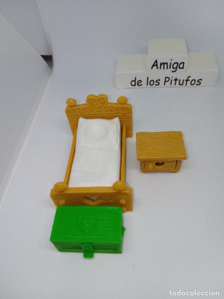 PITUFO- PIEZAS DE DORMITORIO- REPUESTOS - DESPIECE - ACCESORIOS - PEYO-SCHLEICH (Juguetes - Figuras de Goma y Pvc - Schleich)