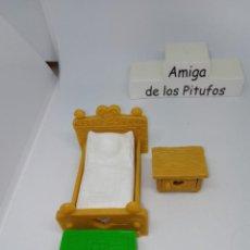 Figuras de Goma y PVC: PITUFO- PIEZAS DE DORMITORIO- REPUESTOS - DESPIECE - ACCESORIOS - PEYO-SCHLEICH. Lote 261856550