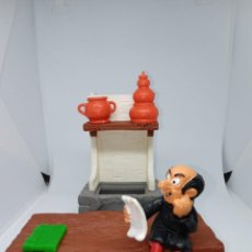 Figuras de Goma y PVC: PIEZAS DEL LABORATORIO GARGAMEL - REPUESTOS - DESPIECE - PEYO-SCHLEICH. Lote 261857220