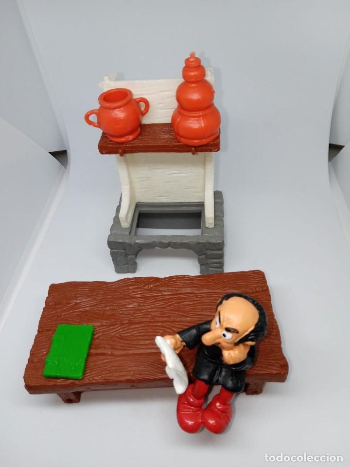 Figuras de Goma y PVC: PIEZAS DEL LABORATORIO GARGAMEL - REPUESTOS - DESPIECE - PEYO-SCHLEICH - Foto 2 - 261857220