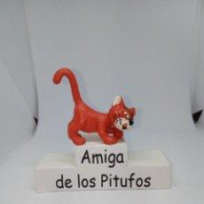 Figuras de Goma y PVC: PITUFOS - AZRAEL - GATO -SCHLEICH. Lote 261858775