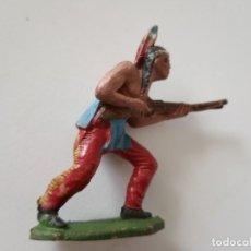 Figuras de Goma y PVC: FIGURA INDIO JECSAN AÑOS 50. Lote 261861015