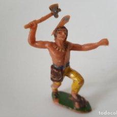 Figuras de Goma y PVC: FIGURA JECSAN INDIO AÑOS 60. Lote 261861125