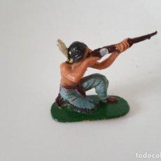 Figuras de Goma y PVC: FIGURA INDIO JECSAN AÑOS 60. Lote 261861365