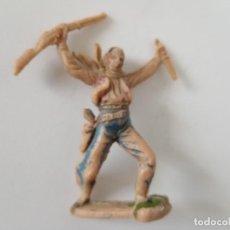 Figuras de Goma y PVC: FIGURA JECSAN AÑOS 60. Lote 261861915