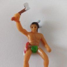 Figuras de Goma y PVC: FIGURA INDIO GOMA 45 MM. Lote 261955220