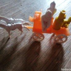 Figuras de Goma y PVC: CARRO DE BOMBEROS - MONTAPLEX. Lote 261987970