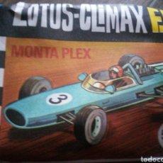 Figuras de Goma y PVC: SOBRE COCHE LOTUS CLIMAX - MONTAPLEX. Lote 295860598